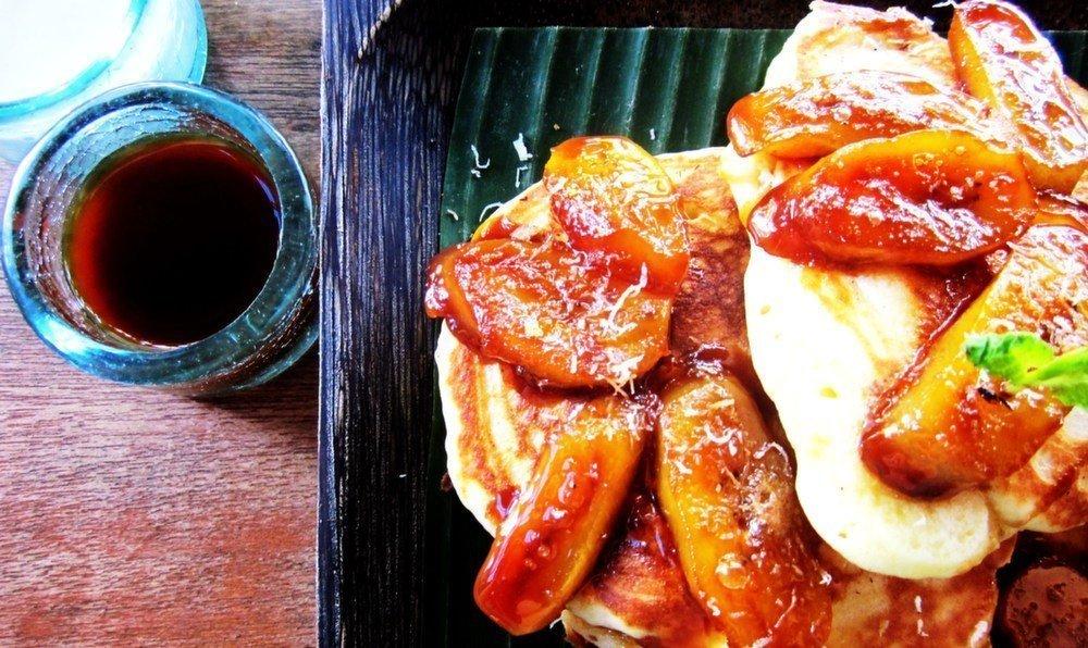 Atman Ubud Bali pancakes