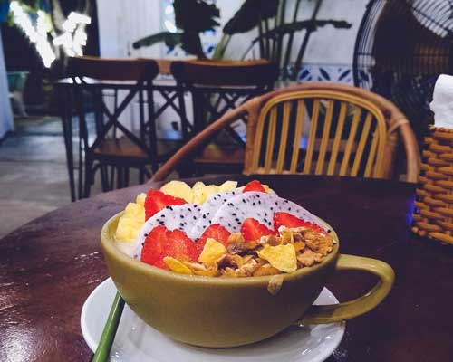 koko green da nang smoothie bowl
