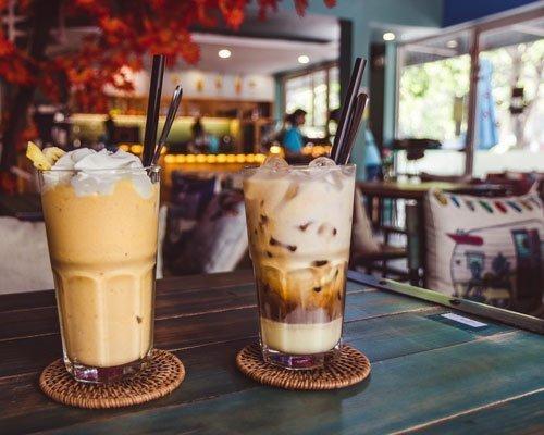 Le Petit Cafe da nang vietnam smoothie