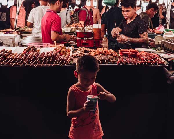street food vendors bangkok